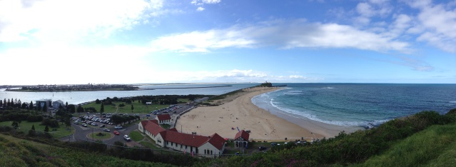 View from Fort Scratchley